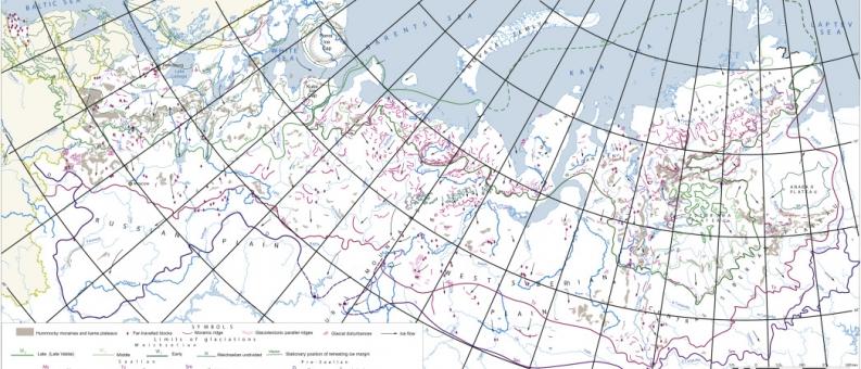 Гляциоморфологическая карта России